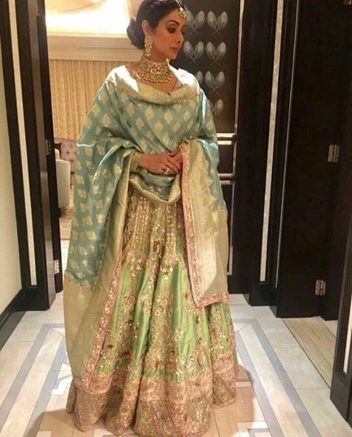 Last picture of Sridevi before her death